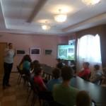 в музее братьев Ткачевых -экскурсия