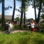 в парке Металлург - один из конкурсов